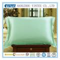 100% Plain Dyed Wholesale Envelope Type Silk Pillow Case for Home Satin Pillow Case, Silk Pillowcase