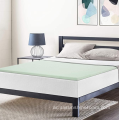 "1.5 ""Green Tea Memory Foam Topper King"