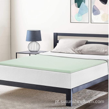 "1,5 ""Chá Verde Memory Foam Topper Twin XL"
