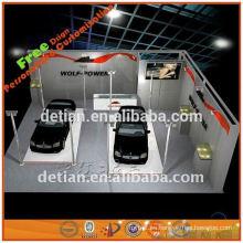 Stand de exposición, construcción, exposición, exposición de stand de sistema