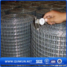 PVC Coated / Galvanized Weled Wire Mesh for Security