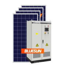 Bluesun hot sale 100kw hybrid solar system with solar energy