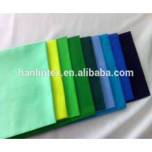 65% полиэстер 35% хлопок 45s поплин рубашка карманы подкладка простой T / C ткани