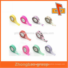 Colorful printing label fancy adhesive sticker in roll