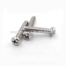 Phillips Pan Head stainless steel machine screw