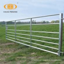 Galvanized rural steel farm gate for sale