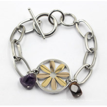 Vente en gros de bijoux à bracelet en acier inoxydable