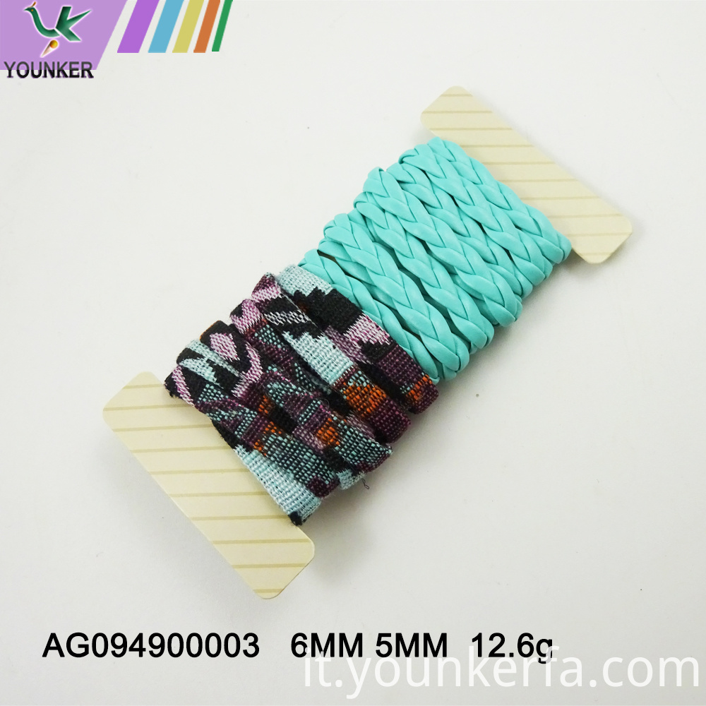 Multi Color Pu Leather Cord For Jewelry Making