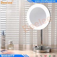 Bathroom LED Table Vanity Cosmetic Mirror with Acrylic Frame