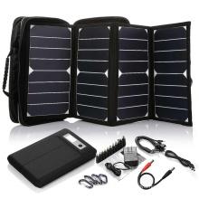2017 Hot Selling High Efficiency 26W sunpower mini portable solar panel