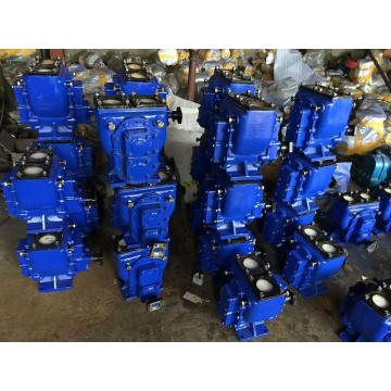 Oil tank truck rotary hydraulic gear pump