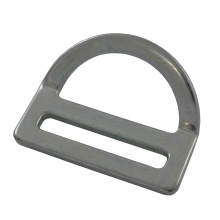 "227 Aço Galvanizado 2 ""Single Slot Bent D-ring"
