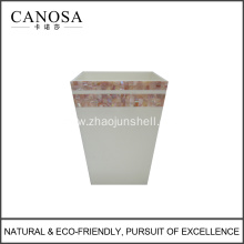 Good Quality Pink Shell Garbage Bin for Hotel