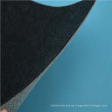 Material de manta eléctrica de algodón negro con sábana de calentamiento