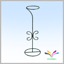 Metal plated counter retail ornament display rack