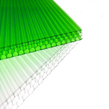 4mm 6mm 8mm with reinforced structure design wear-resistant tough honeycomb polycarbonate sheet for large stadiums