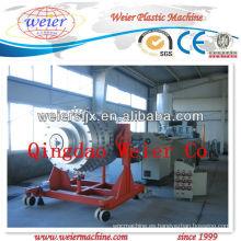 Máquina del tubo de HDPE PP, máquina de la protuberancia, cadena de producción con el certificado del CE