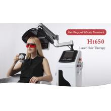 Tapa láser para el crecimiento del cabello Sistema de fototerapia de función múltiple para el crecimiento profesional del cabello