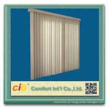 Protetor solar interior de poliéster tecido sombra Vertical Fabrices cego