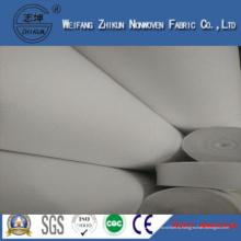 Ткань PP nonwoven с торгового рынка сумок (белый ПП)