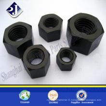 Écrou hexagonal de bonne qualité Écrou hexagonal fini en zinc Ecrou hexagonal Din934