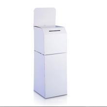 Vollfarbige Karton-Display-Ständer Display-Mülleimer
