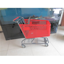 Red Green Blue Colour Plastic Shopping Trolleys for Sale