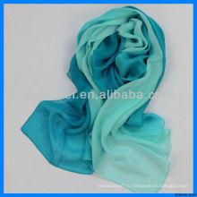 Шелковый шарф для цифровой печати