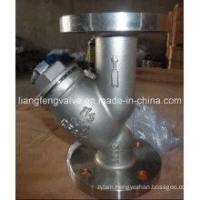 Stainless Steel Flange End Y-Strainer RF