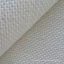 Tecido de entrelaçamento de cânhamo / lã em dois tons (QF13-0141)