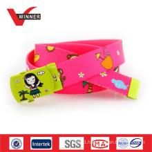 ODM Kids Cartoon Buckle Webbing Belts For Kids