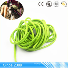 Waterproof PVC Coated Poylester Round Rope For Dog Leash