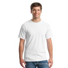 Camisetas en blanco al por mayor del precio barato material del poliéster