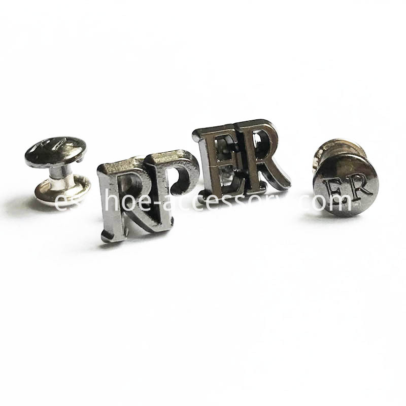 Customized Rivet Back Badges