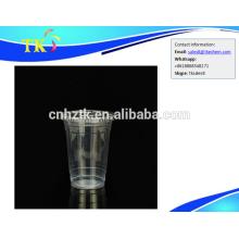 Kunststoff transparent dickes PP heißes und kaltes Getränk Milchbecher 600ml