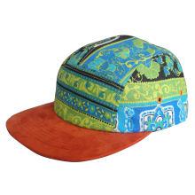 Custom Wool 5 Panel Leisure Snapback Caps
