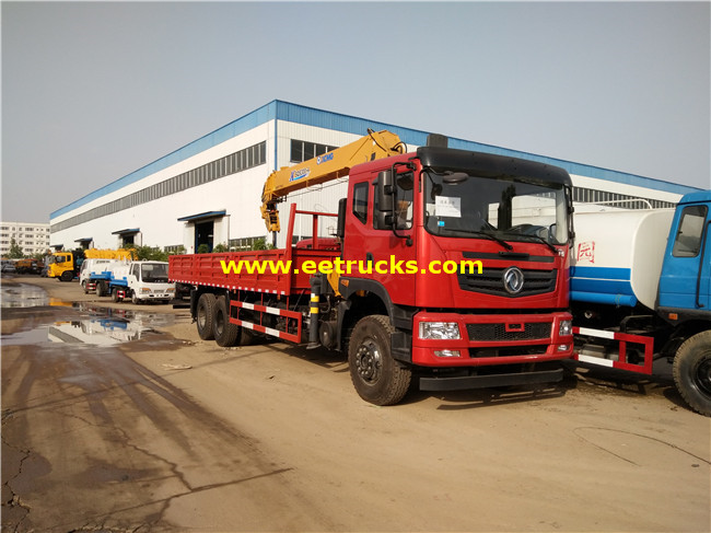 6x4 16ton Truck with Cranes