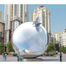 Urban large outdoor sphere ball sphere stainless steel balls
