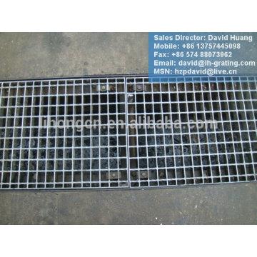 Verzinkter Grabendeckel, verzinkter Stahlrost, galvanisierter Stahlgitter