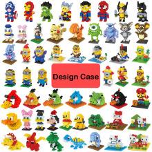 АБС дизайн Нано блоки мини блоки для поделок Нано игрушки дизайн