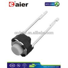 Daier KFC-A06-HY 6 * 6 * H (H = 4.3 ~ 21) Interruptor de contacto de pie largo y redondo
