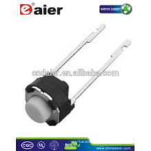 Daier KFC-A06-HY 6*6*H (H=4.3~21) Round Long Foot Tact Switch