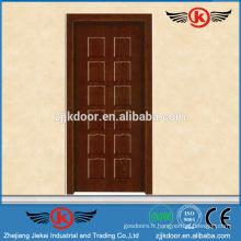 JK-MW9005B porte intérieure en mélamine intérieure portes en bois antidérapantes