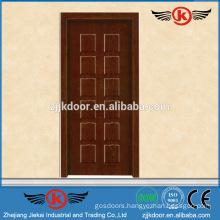 JK-MW9005B modern interior melamine door shatterproof wooden doors