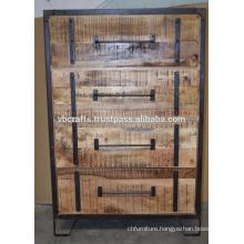 Industrial Urban Loft Drawer Cabinet