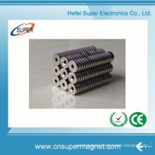 Wholesale N35 Neodymium Ultra Thin Cylinder Magnet