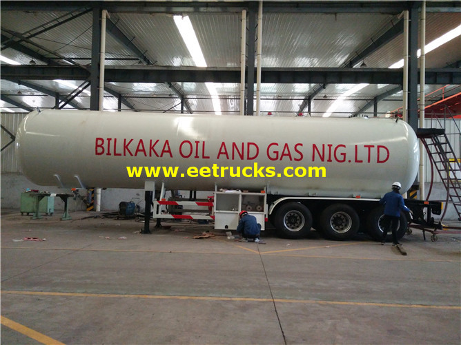 54000 Liters Lpg Tanker Trailers