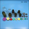 Casquillos de los frascos de cristal
