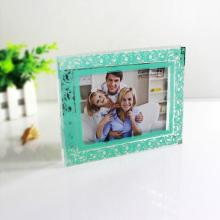 Marco de fotos de acrílico transparente personalizado para collage