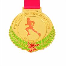 Premio de carrera popular y medallas de carrera de ritmo